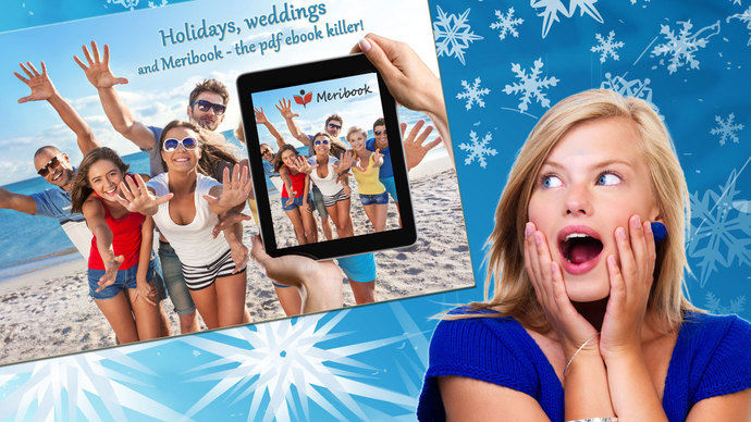 Front post image holiday weddings meribook