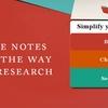 Thumb meribook note taking software process